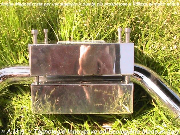 Acqua Magnetizzata per uso agricolo = piante più prosperose e utilizzo di meno acqua2